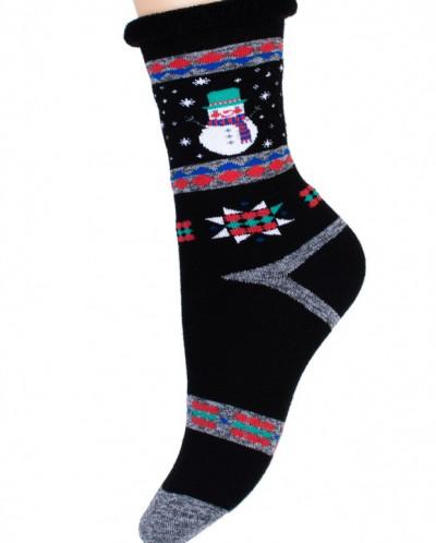 Носки женские с-936 (упаковка 5 пар) зима
