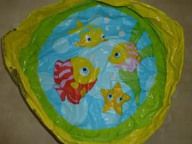 Надувной детский бассейн D 55см. Intex
