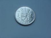 Монета 1 Гульден 1980 год Нидерланды