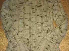 Свитер - Водолазка, крупная вязка очень мягкий
