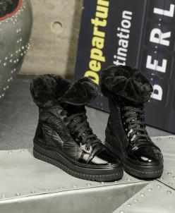 Дутики King Boots KB639SW Schwarz Черный