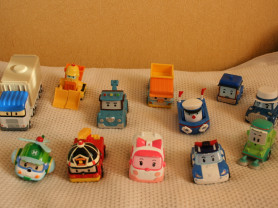 Машинки Поли робокар