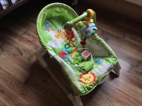 кресло-шезлонг Fisher price львенок из тропического леса