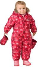 Зимний комбинезон для малышей W17301 RED