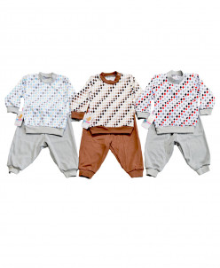 Костюм джемпер, штаны для мальчика интерлок 1171