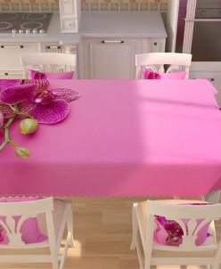 Фотоскатерть Розовое блаженство 145*200 Габардин
