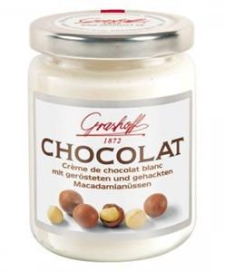 Белый шоколадный крем с орешками макадамия, 235 гр.