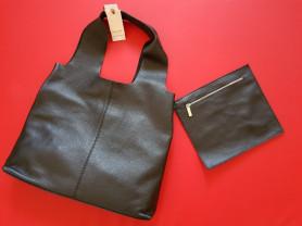 Новая сумка мешок из натуральной кожи Италия