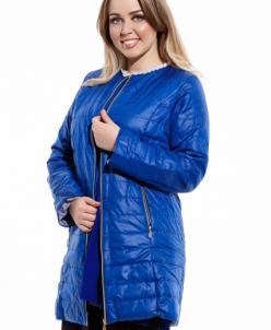Женская куртка большого размера Эрика электрик