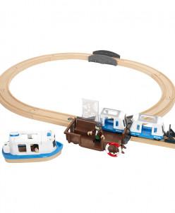 Железная дорога с паромом и поездом BRIO (БРИО)