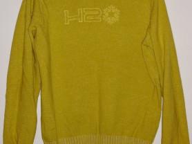 Свитер теплый фирменный лимонный H2O р.50-52-54
