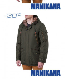 Зимний пуховик Manikana