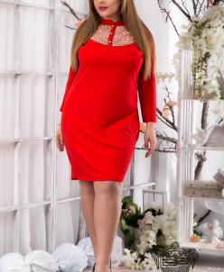 Платье с пуговичками