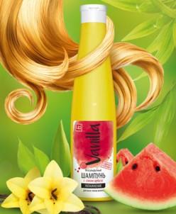 Безсульфатный шампунь с соком арбуза для всех типов волос