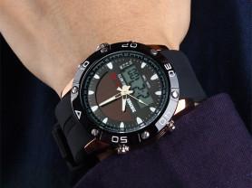 Skmei 1064 solar watch на солнечной батареи