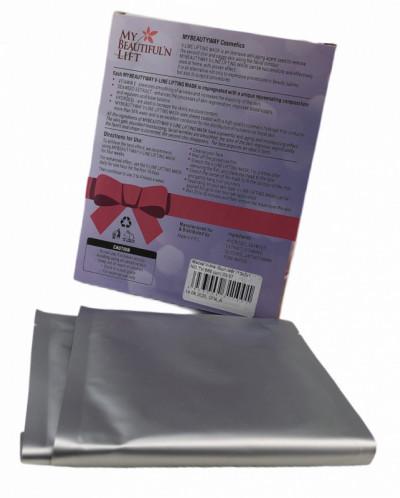 Маска бандаж для подтяжки овала лица и второго подбородка.
