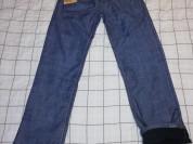 Новые мужские джинсы с начесом (тёплые, зимние)