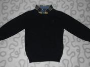 Джемпер с рубашкой-обманкой Next, 92 см