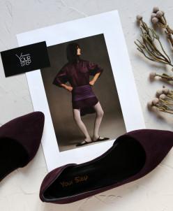 Элегантные замшевые балетки. Новая коллекция!