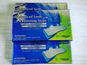 Отбеливающие полоски для зубов со вкусом ментола