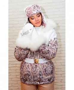 Женская зимняя куртка-полупальто Airos