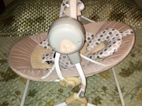 Электронные качели Babyton, цвет бежевый
