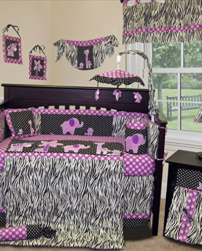 SISI Baby Girl Boutique - Animal Planet Purple - 13 PCS