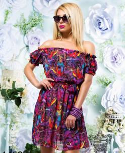 Легкое шифоновое платье - 14527