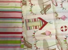 Новый хлопковый комплект постельного белья