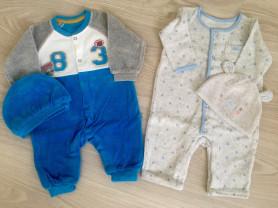 Одежда на мальчика 0-3 мес (56-62 см)