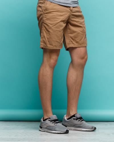 Мужские шорты Балдер свелый коричневый