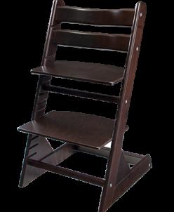 Стул Kid-Fix - цвет Венге (коричнево-чёрный)