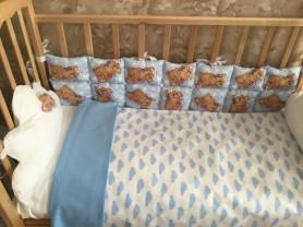 Пошив комплектов для детской кроватки