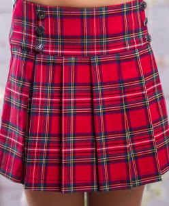 Школьная юбка sh3 (клетка)