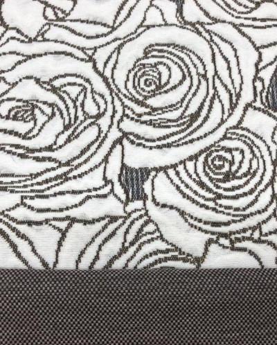 Розы рогожка покрывало арт.25013