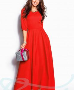 Вечернее лаконичное платье Gepur