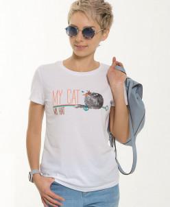 DFT6651 футболка женская
