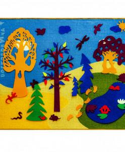 Фиолетовый лес мал в чехле (ковролин)(Воскобович)