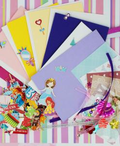 """2336 Набор для изготовления 6 открыток """"Принцессы"""""""