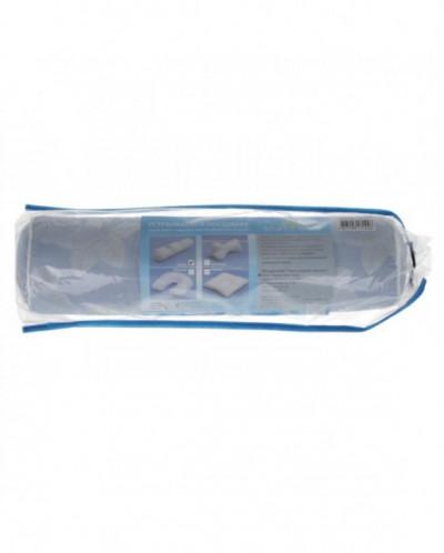 Подушка Валик 10*40 см, смесовая лузга