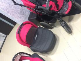 коляска хорошем состоянии 3в1 маскитка , дождевик .