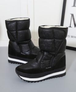 Дутики King Boots KB577SW Schwarz Черный