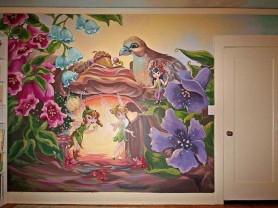 Роспись стен детской.Скидка к 8 Марта!