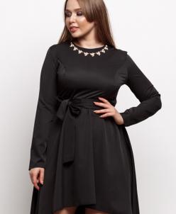 Женское платье 17554 черный