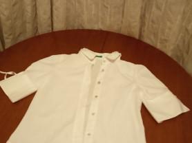 Белая блузка Benetton