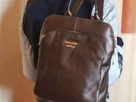 Новая сумка -рюкзак Италия из натуральной кожи