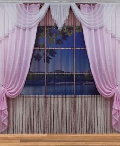 Комплект штор Зарина