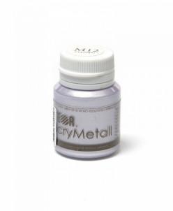 Краска акриловая AcryMetall арт.str.M12V20 Серебро 20мл