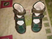 Новые сандали с высоким берцем на липучках есть