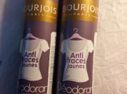 Bourjois дезодорант от желтых пятен на белой одежд